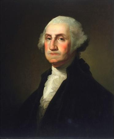 George Washington by Rembrandt van Rijn