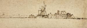 Het Molentje, C.1654 by Rembrandt van Rijn