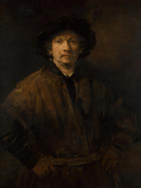 Large Self-Portrait, 1652 by Rembrandt van Rijn