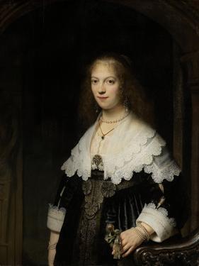 Portrait of a Woman by Rembrandt van Rijn