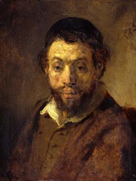 Portrait of a Young Jew by Rembrandt van Rijn