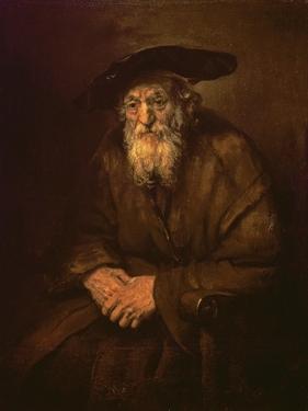 Portrait of an Old Jew by Rembrandt van Rijn