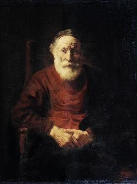 Portrait of an Old Man in Red, 1652-1654 by Rembrandt van Rijn