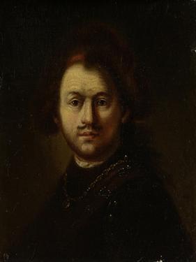 Portret Van Rembrandt Harmensz. Van Rijn by Rembrandt van Rijn