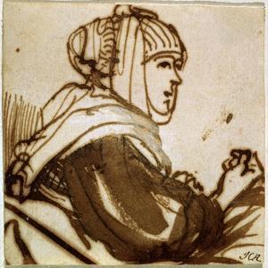 Saskia, 1633-1634 by Rembrandt van Rijn