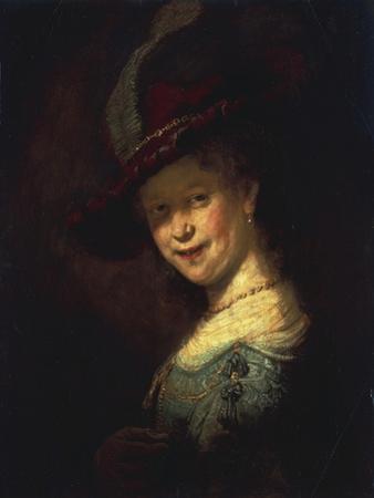 Saskia As a Girl by Rembrandt van Rijn