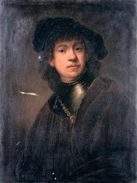 Self Portrait, 17th Century by Rembrandt van Rijn
