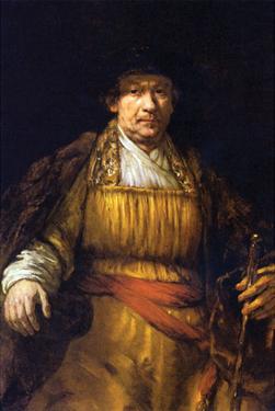 Self-Portrait [7] by Rembrandt van Rijn