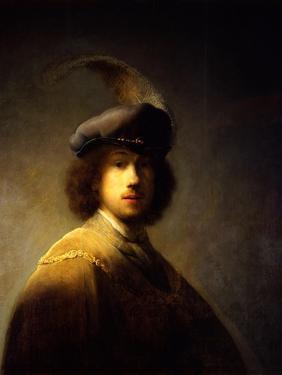 Self-Portrait, Aged 23 by Rembrandt van Rijn