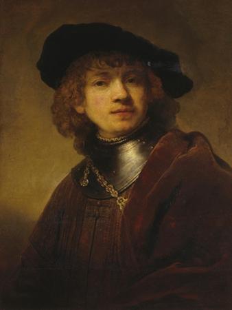 Self-Portrait as a Young Man by Rembrandt van Rijn