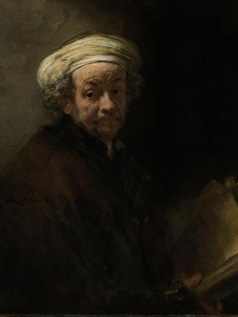 Self- Portrait as the Apostle Paul by Rembrandt van Rijn