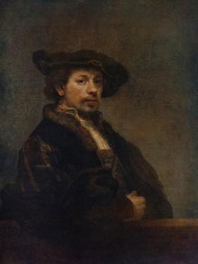 Self Portrait at the Age of 34, 1640 by Rembrandt van Rijn