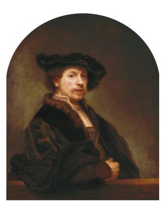 Self-Portrait at the Age of 34 by Rembrandt van Rijn