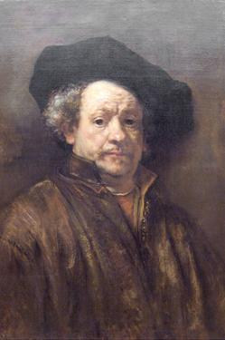Self Portrait Rembrandt by Rembrandt van Rijn