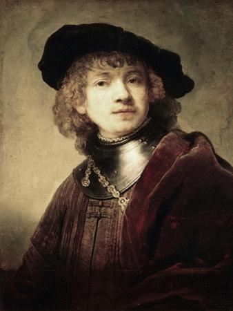Self Portrait by Rembrandt van Rijn