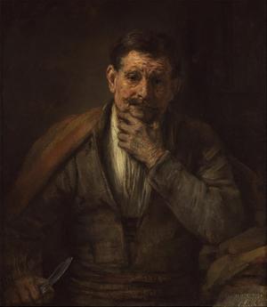 St. Bartholomew by Rembrandt van Rijn
