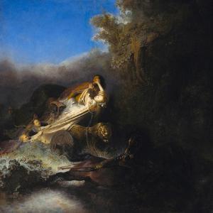 The Abduction of Proserpina, Ca 1631 by Rembrandt van Rijn
