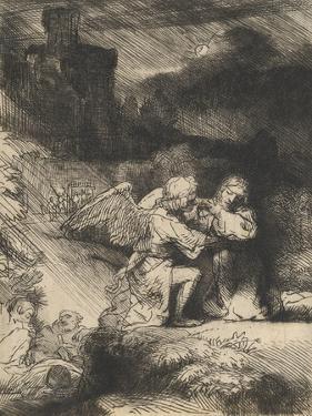 The Agony in the Garden, C.1657 by Rembrandt van Rijn