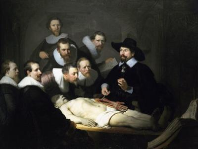 The Anatomy Lesson of Dr Nicolaes Tulp, 1632
