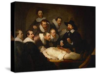 The Anatomy Lesson of Dr. Nicolaes Tulp by Rembrandt van Rijn