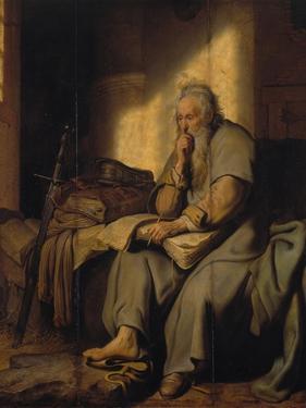 The Apostle Paul in Prison, 1627 by Rembrandt van Rijn