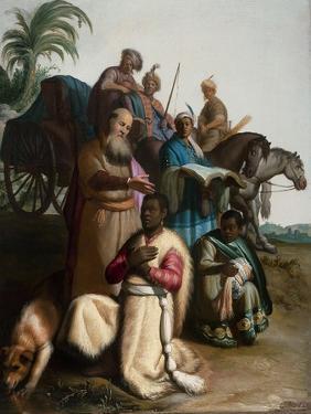 The Baptism of the Eunuch by Rembrandt van Rijn