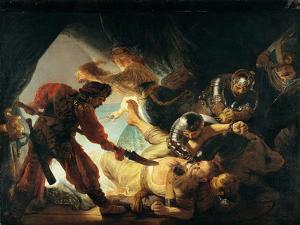 The Blinding of Samson by Rembrandt van Rijn