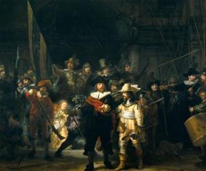 The Company of Frans Banning Cocq and Willem van Ruytenburch by Rembrandt van Rijn