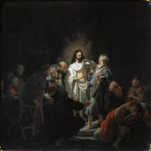 The Incredulity of Saint Thomas, 1634 by Rembrandt van Rijn