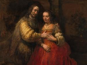 The Jewish Bride, 1666-1669 by Rembrandt van Rijn