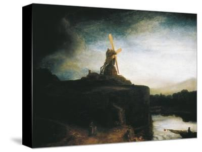The Mill by Rembrandt van Rijn