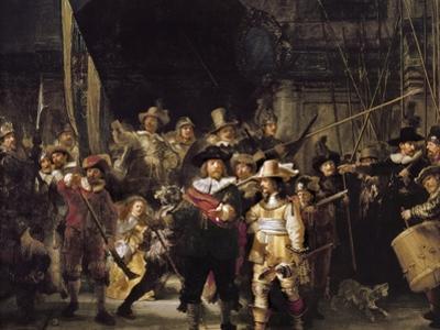 The Night Watch by Rembrandt van Rijn