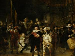 The Nightwatch, 1642 by Rembrandt van Rijn