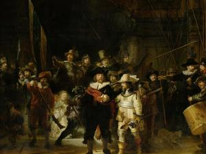 The Nightwatch, 1642 by Rembrandt van Rijn