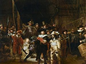 The Nightwatch by Rembrandt van Rijn