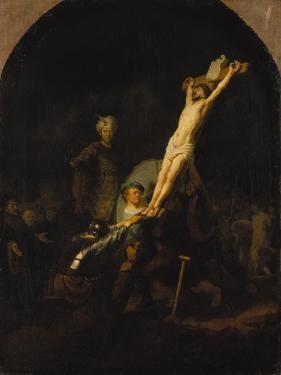 The Raising of the Cross, about 1633 by Rembrandt van Rijn