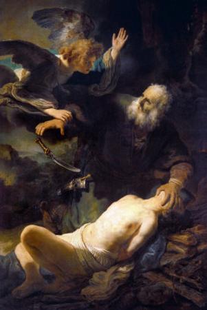The Sacrifice of Isaac, 1635 by Rembrandt van Rijn