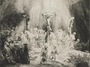 The Three Crosses, 1653 by Rembrandt van Rijn