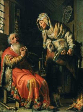 Tobit and Anna, 1626 by Rembrandt van Rijn