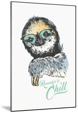 Remember To Chill Sloth