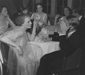 Vogue - February 1936 - Couples Dining at The St. Regis by Remie Lohse