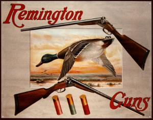 Remington Arms 2 Shotguns & Ducks
