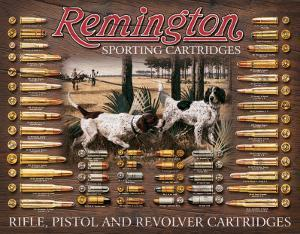 Remington Bullet Board