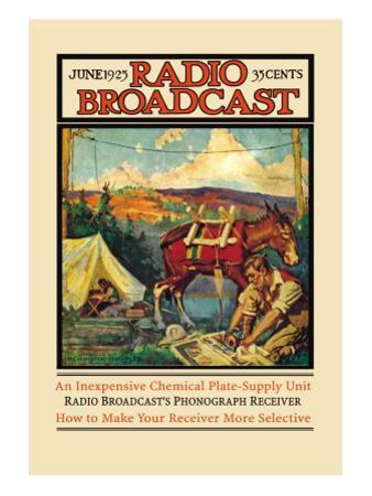 Radio Broadcast: June 1925