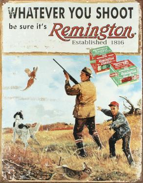 Remington Whatever You Shoot Rifle Hunting