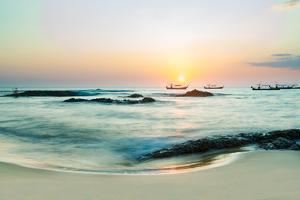 Beautiful Sunset in Khao Lak Thailand by Remy Musser
