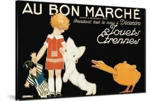 Au Bon Marche, Jouets et Etrennes by Ren? Vincent