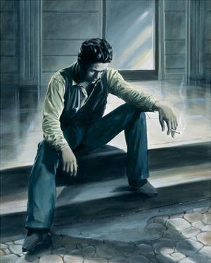 James Dean - Rebel by Renate Holzner