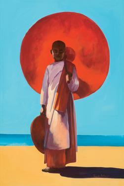 Mingun Burma by Renate Holzner
