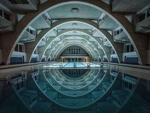 Swimming at Night by Renate Reichert
